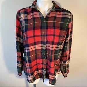 American Eagle Boyfriend Soft Flannel Shirt